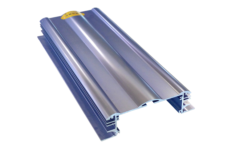 Anodized surface finish extruded industrial aluminum profile