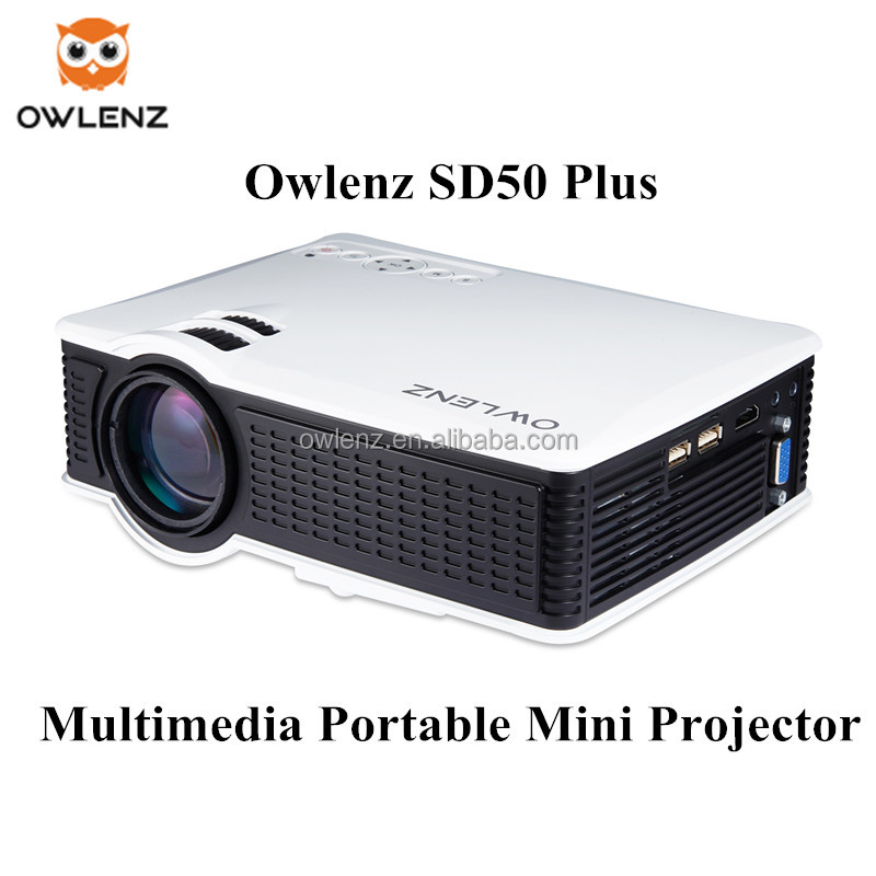 SD50 Plus Portable HD LED Projector Home Cinema Theater Support 1920x1080 video home digital