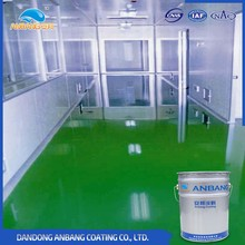 AB-DP-300M chemical processing factory oil resistant shining epoxy floor paint