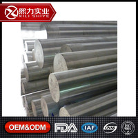 Factory extruded square round rectangular aluminum alloy bar 6061 6063 t6