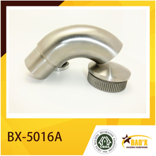 stainless lsteel pipe joiner tube connector handrail fitting
