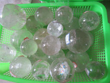 natural quartz clear crystal ball/sphere quartz ball/sphere Colorful light stone