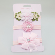 Fantastic Artificial Flower Elastic Headband For Babies,Summer Color Cute Headbands