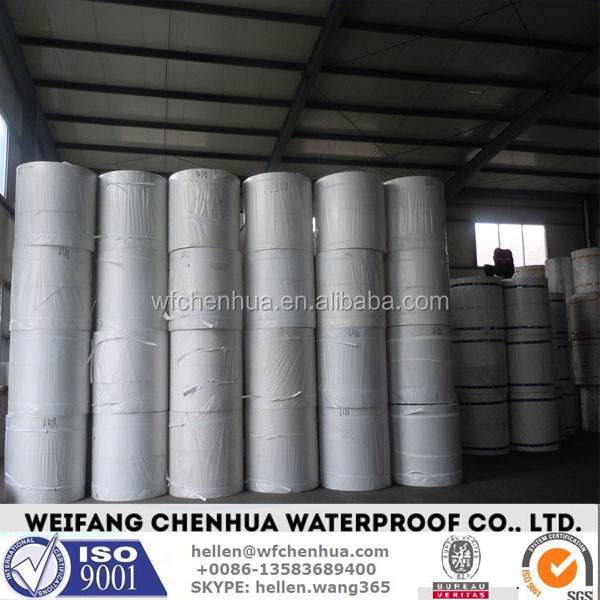 Polyester spunbond nonwoven for SBS and APP membrane --- China factory direct price