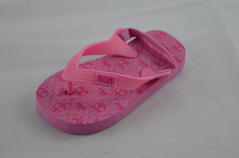 Cute Pink Design Summer Beach Wholesale Kids Sandals