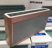 High Quality Wholesale 168 Bluetooth Speaker ,Super Bass Stereo 168 Wireless Bluetooth Speaker Support TF Crad /USB Port
