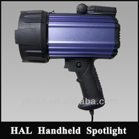 Halogen HID LED Holding Portable hunting searchlights,police security flashlight