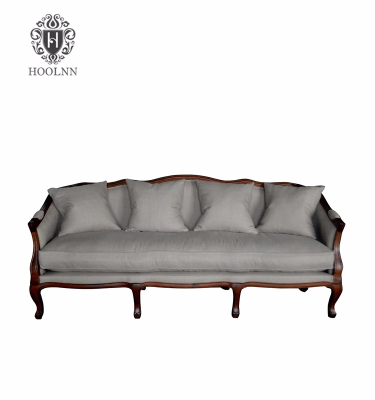French Elegance Louis XV Three Seater sofa furniture HL329-3