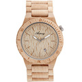 small MOQ wholesale price luxury custom digital bamboo wooden watch