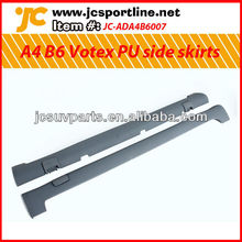 For 2003-2005 Audi A4 B6 Votex style PU side skirts