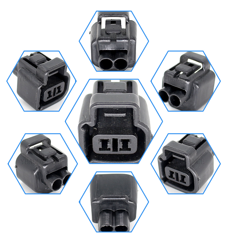 Automotive waterproof housing sumitomo 2 pin connector and terminals