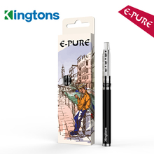 Top selling item Kingtons refillable E-pure cheap rechargeable hookah pen with 1.5ml capacity