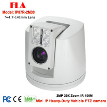 Mini Heavy-duty 30X Optical zoom night vision 100M Full HD 2MP 1080P Waterproof hd ip CCTV PTZ High speed camera