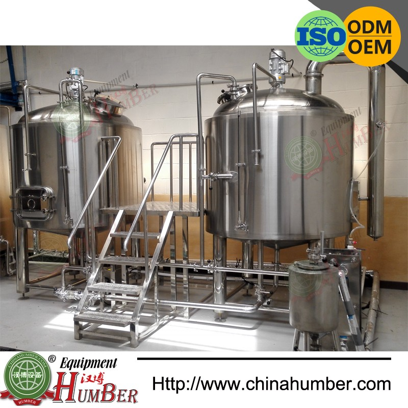 Electric/Steam/ Direct Flame Heating 500l Red Copper Brewery Brewing Equipment Home