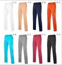 Mens Custom Outdoor Sports Long Golf Pants Factory Wholesale Trousers with OEM Logo