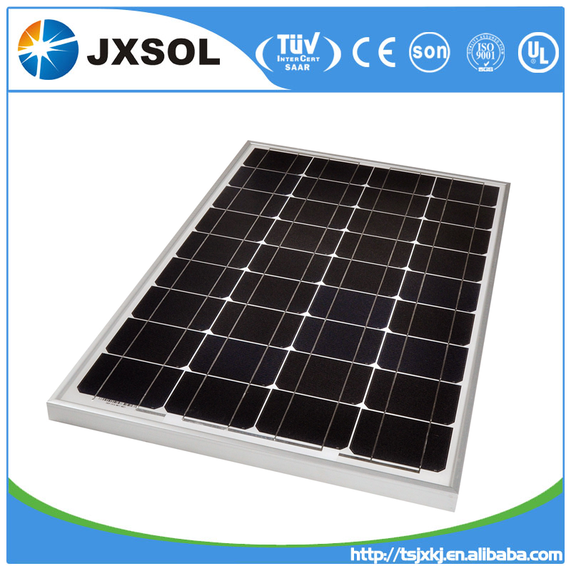 60w best price mono crystalline solar panel PV module with high efficiency