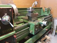 Used Precision Gap Bed Lathe Machine