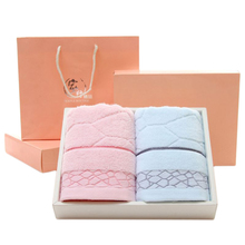 Promotional <strong>100</strong>% Cotton Bath Towel,Soft Comfortable hand Cotton Towel 2 Strip with Gift Box
