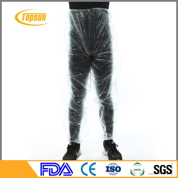 Disposable PE Short Boxer pants/Long Plastic Pants for lose weight
