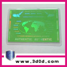 2015 hot sale special printing features hologram id card