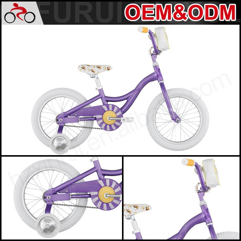 Factory Freestyle Lovely 14 Inch 4 Wheel Balance Kid Bike Children Bicycle