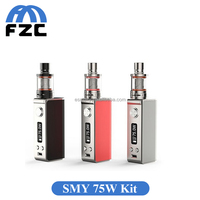 New Arrival!!! Popular Products Simeiyue 75w TC Box Mod Temperature Control Authentic Smy 75w Kit