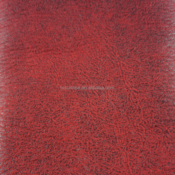 china supplier waterproof breathable polyester bronzed suede upholstery fabrics for sofa