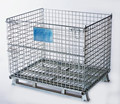 warehouse zinc plated storage cage