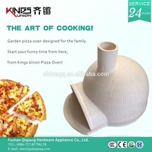 mobile thermostat terracotta pizza oven with thermometer KU-001B