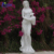 Modern outdoor garden decoration stone art church sculpture  religious marble female virgin mary statue NTBSP-11