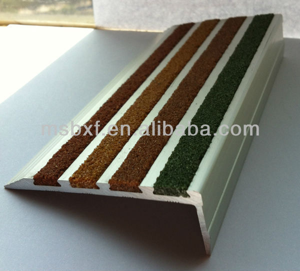 Aluminum No Slip Stair Nosing, Aluminum No Slip Stair Nosing Suppliers And  Manufacturers At Alibaba.com