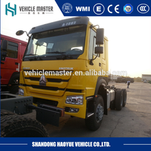 Factory sale 6x4 10 wheel tractor truck Howo truck head for sale