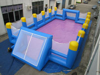 inflatable football arena/Cheap PVC foosball games/Commercial soap football field