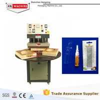 HX-50 Plastic and paper hot sealing and packing machine for toys,stations,battery,foods,commodity,small tools