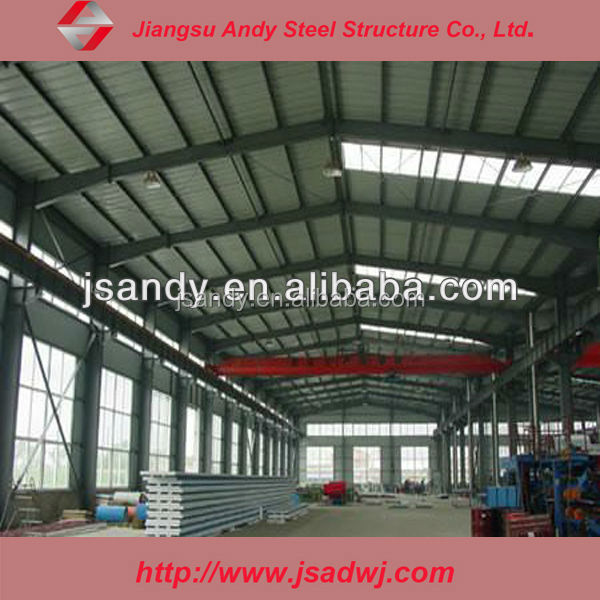 Steel structure lighting retractable roof system