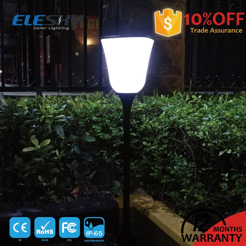 China manufacturer high power all in one outdoor standing solar lamps