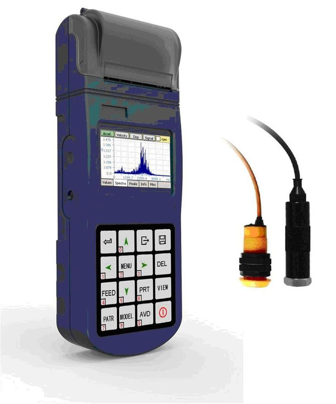 Real-time Vibration Meter spectral chart Portable For Industrial Fields