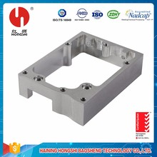 Custom milling metal central machinery parts / machining steel block