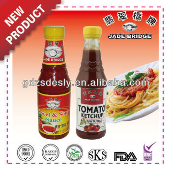 Natural Yummy Tomato Ketchup & Sweet Sour Sauces for dipping
