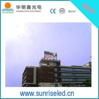 Sunrise P10 Outdoor led display rental for use in media & entertainment
