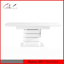 Modern High Gloss MDF Dining Room Table