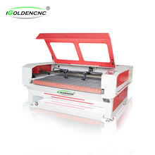 double head 80W/100W/130W laser tube cnc laser cutting machine 1410
