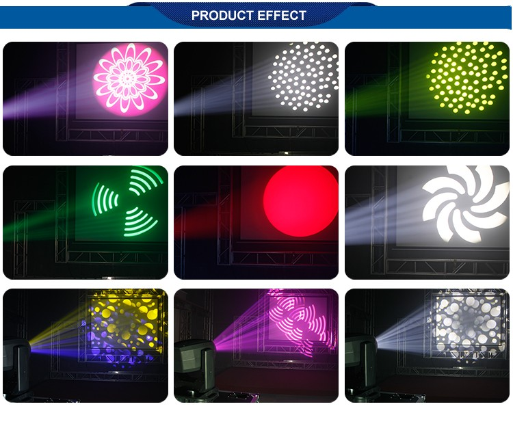 high Brightness dj disco lighting 200W spot LED Moving Head