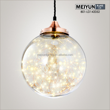 Modern Pendant light / Mirror Ball glass pendant lamp