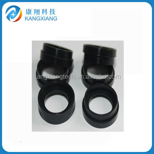 2014 customer 50 shore A black rubber brand lens cap/ring china manufacturer