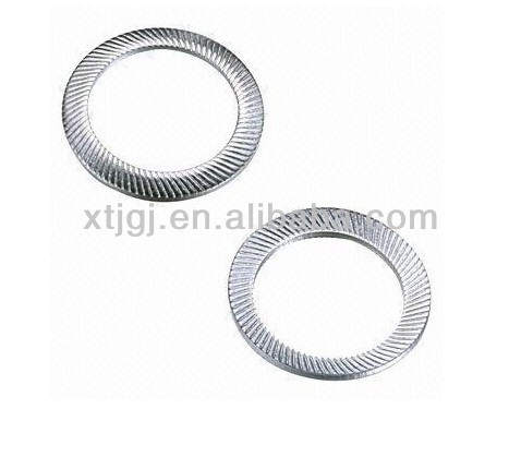 Spring steel M4-M20 Serrated Safety Washer