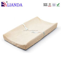 Direct factory price washable changing pads,waterproof fabric cover baby changing mat