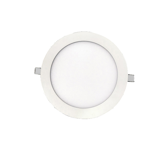 ip44 18w ultra-thin led recessed panel light fixtures <strong>flat</strong> circle dimmable white led suspended light guide panel