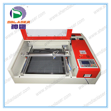 co2 laser engraving machine for jewelry working area 400*400mm