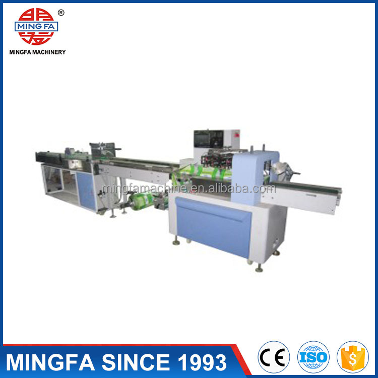 Plastic cup wrapping machine automatic counting and packing price